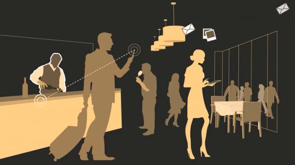 CrowdRoaming kann auch als Hotspot in einer Location oder bei einem Event eingesetzt werden. (Bild: CrowdRoaming)