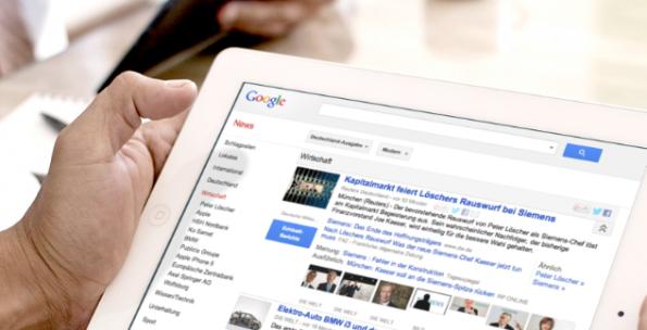Leistungsschutzrecht ad absurdum: Die Online-Medien der Axel Springer AG werden zukünftig weiter in Google News indexiert.