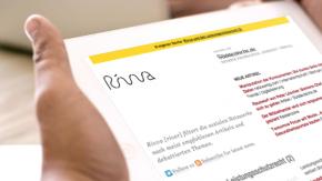 Leistungsschutzrecht fordert erstes Opfer: Rivva sperrt 650 Online-Medien aus