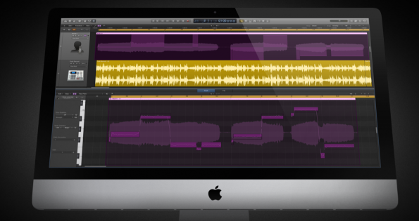 Ansicht der Logic Pro X-Musiksoftware. (Screenshot: apple.com)