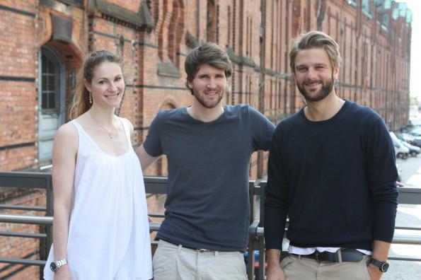 Das Team des Startup easyPEP: vl.