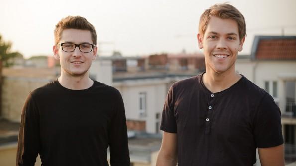 Foto der beiden Gründer von Stilanzeigen: Simon Staib und Jan Homann.