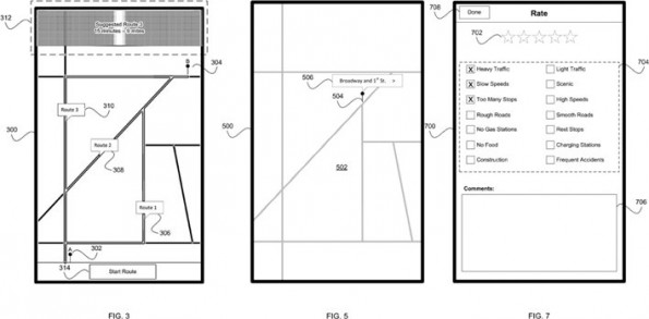 Apple: Patentantrag deutet auf Navigation mit Crowdsourcing-Komponente. (Quelle: United States Patent and Trademark Office)