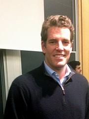 Bitcoin-Millionär und Investor: Tyler Winklevoss.  (Bild: WikiMedia Commons)
