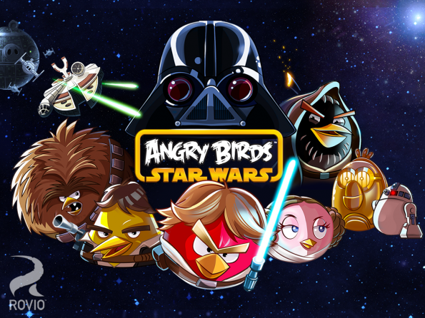 Android: Egal ob Casual- oder Hardcore-Games, für Unterhaltung ist gesorgt. (Screenshot: Angry Birds Star Wars)