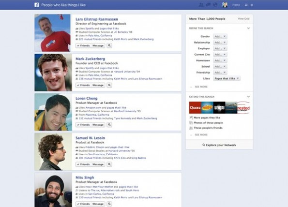 facebook graphsearch screenshot