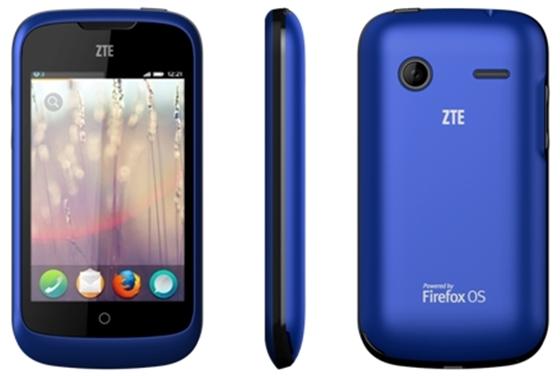 Das ZTE Open ist das erste Smartphone mit Firefox OS (Bild: ZTE)