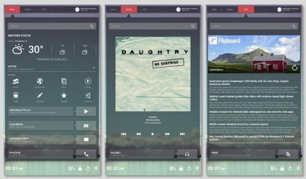 Buzz: Screens wie dieser lassen sich in sekundenschneller herunterladen und nutzen. (Screenshot: Homepack Buzz)