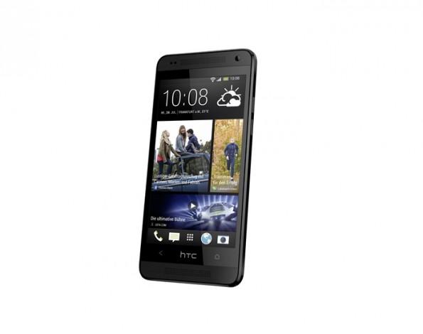 HTC One Mini: Hier die schwarze Version des Smartphones. (Bild: HTC)
