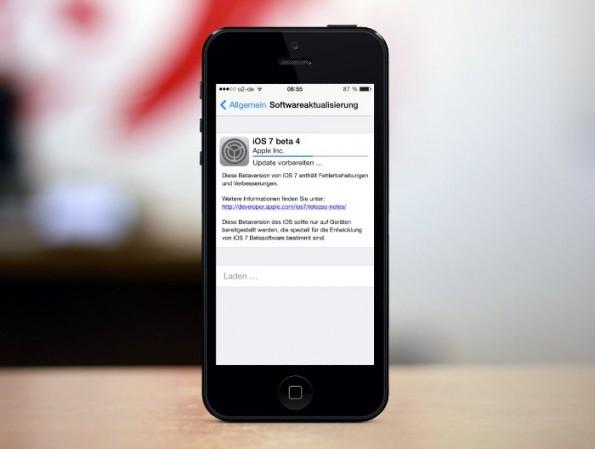 iOS Beta 4: Neben einigen optischen Veränderungen findet sich erstmals ein Hinweis auf einen Fingerabdruckscanner. (Bild: PlaceIt.breezi)
