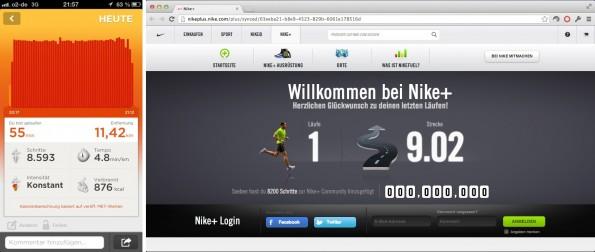 Jawbone UP oder Nike Sportswatch – wer hat Recht?
