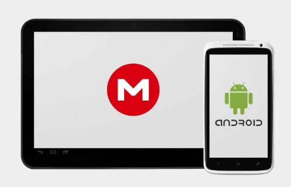 Mega: Kim Dotcoms Cloud-Speicher gibt es jetzt auch als Android-App. (Bild: Mega)
