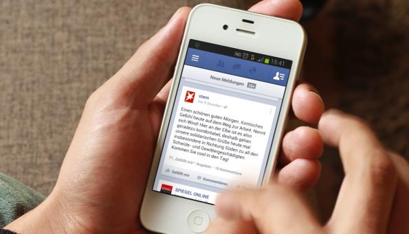Anhand von 10.000 Publisherquellen wurden die Top-50 der Newsportale im Social-Web ermittelt. (Bild: Placeit.Breezi)