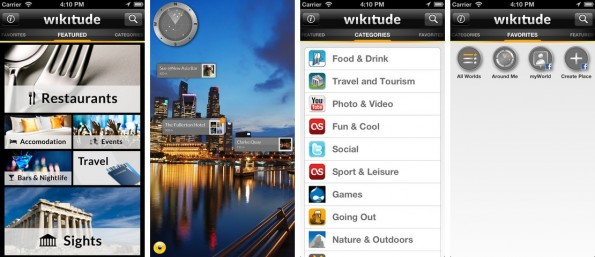 Wikitude bietet Augmented Reality für deine Umgebung. (Screenshot: iTunes)