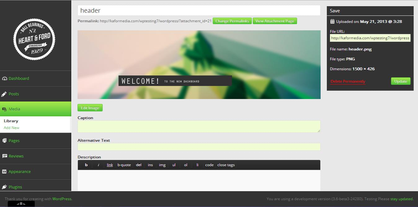 """Die """"WP Quick Admin Themes"""" gibt es ebenfalls in einer dunklen und einer hellen Variante."""