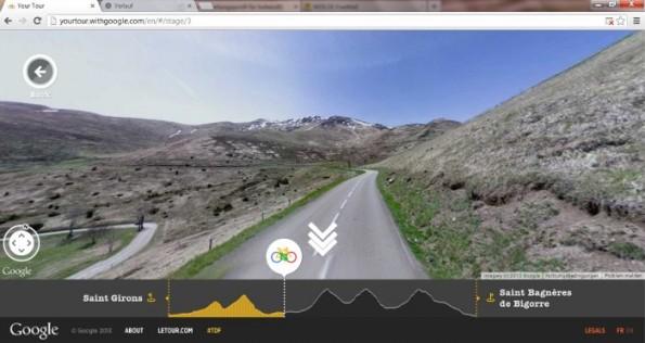 Die Ansicht wechselt auf Your Tour von Google Maps, zu Street View bis hin zu Animationen und Inhalten aus Google+. (Screenshot: Your Tour)