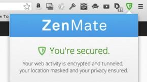 ZenMate: Deutsches Chrome-Plugin verschlüsselt und anonymisiert Internetverkehr kinderleicht
