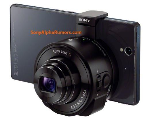 Sonys Kamera - Einfach angedockt (screenshot:SonyAlphaRumors)