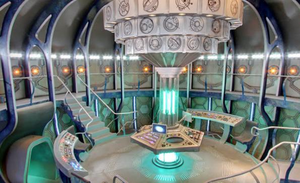 Im Google Easteregg: Das Innere der TARDIS. (Quelle: StreetView)