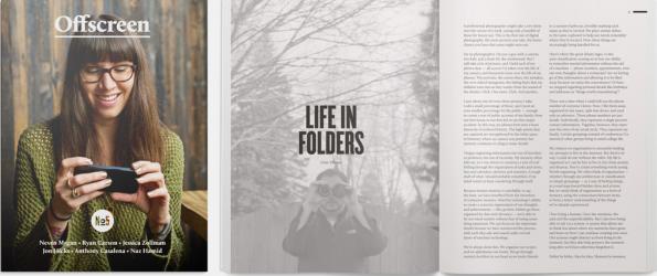 Offscreen ist ein Print-Magazin, dass erfolgreiche Webdesigner und Pixrlschubser vorstellt.