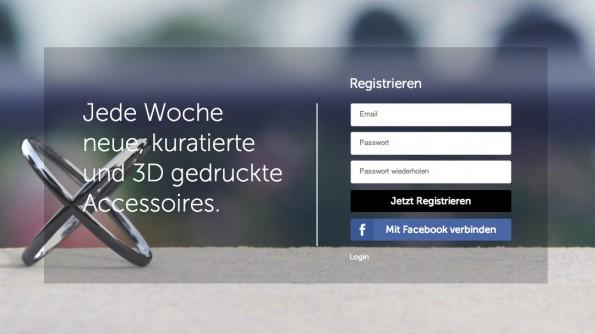 Stilnest verkauft exklusive 3D-gedruckte Accessoires. (Screenshot: Stilnest.com)