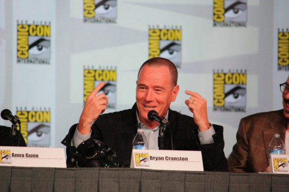 Breaking Bad: Hauptdarsteller Bryan Cranston auf der San Diego Comic Con. (Bild: Chris Sully / Flickr Lizenz: CC BY-SA 2.0)