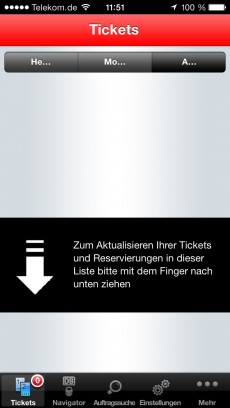 Die DB Tickets App. Hä?!