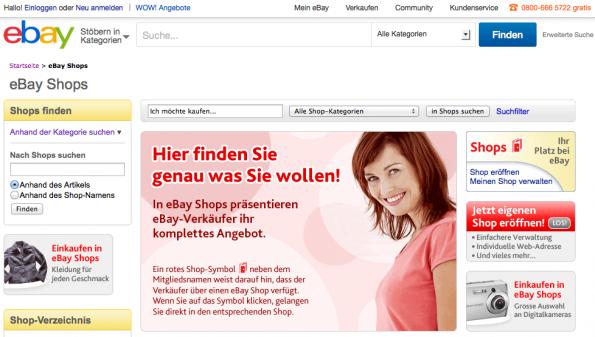 eBay Redesign ist in Deutschland (noch) kein Thema. (Screenshot: eBay)