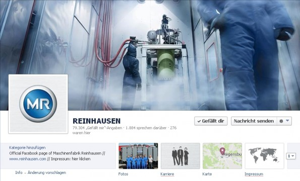 Facebook-B2B. (Screenshot: Facebook)