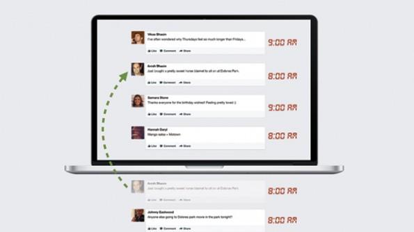 Re-Bumping: Aktuelle Beiträge werden trotz geringer Interaktionsraten mehrfach angezeigt. (Bild: Facebook)