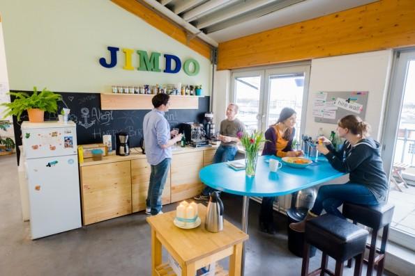 Unternehmen wie Jimdo setzen auf eine gute Arbeitsathmosphäre – und auf Feel-Good-Manager. (Foto: Jimdo)