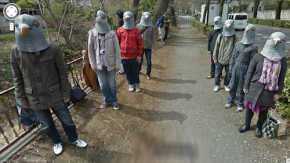 Sabotage bei Google-Street-View: 55 kreative Photobombs