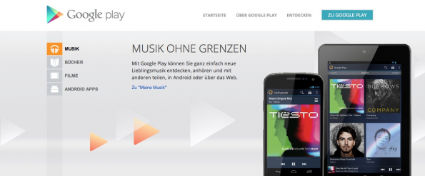 musikstreaming-dienste google play music all access