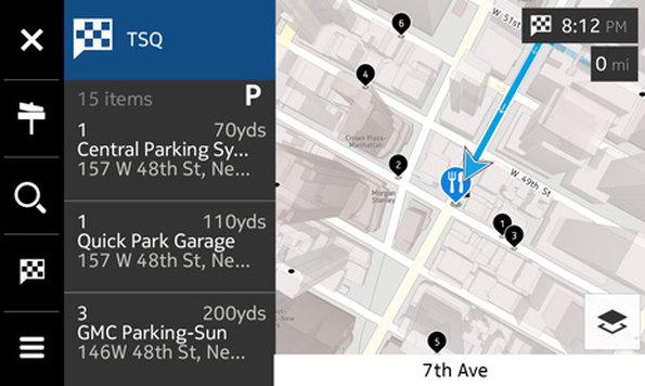 Nokia HERE Auto will mehr sein als ein simples Navigationssystem. (Bild: Nokia)