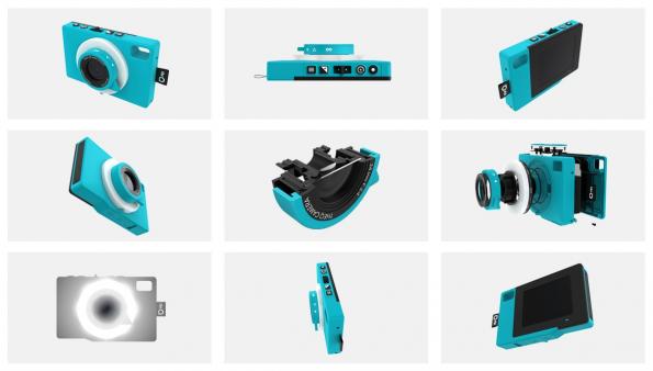 Technisch ist theQ eher an die Bildästhetik lomografischer Kameras angelehnt. (Bild: theQ)