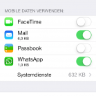 3 ios 7 tricks datenvolumen