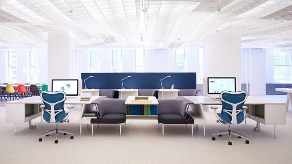 Edles Ambiente: Mimialistisch gehaltene Office-Arbeitsplätze. (Quelle: minimaldesks.com)