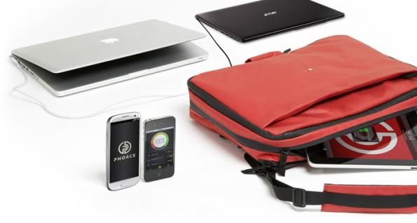 Phorce kann man sowohl als Messenger, Rucksack oder Briefcase nutzen.