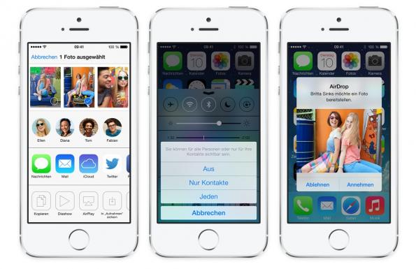 iOS 7 steht ab sofort zum Download bereit. (Bild: Apple)