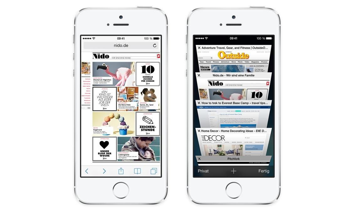 Der Safari Browser Glanzt Unter IOS 7 Mit Einigen Nutzlichen Neuen Funktionen