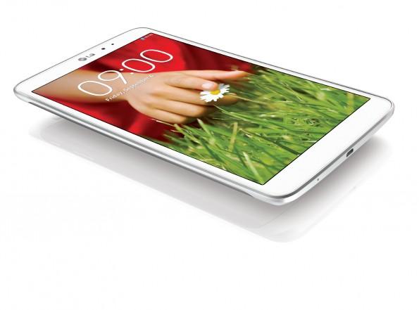 Das LG G Pad 8.3 kommt mit einer Display-Auflösung von 1920 mal 1200 Pixel. (Bild: LG)