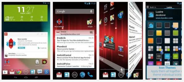 Android Launcher: Der Nova Launcher ist definitiv einen Blick wert. (Screenshots: Google Play Store)