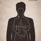 printwerbung gun violence
