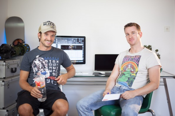 Das Gründerteam von Juicies: Laurens Laudowicz und Hannes Reichelt betreiben ihr Startup von Hawaii und Bremen aus. (Foto: Juicies)