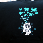 "t3n-Shirt ""Birdswarm"""