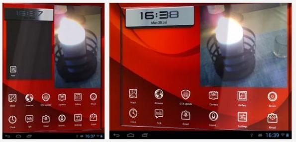 Vire: Der Launcher ist optisch durchaus imposant. (Screenshots: Google Play Store)