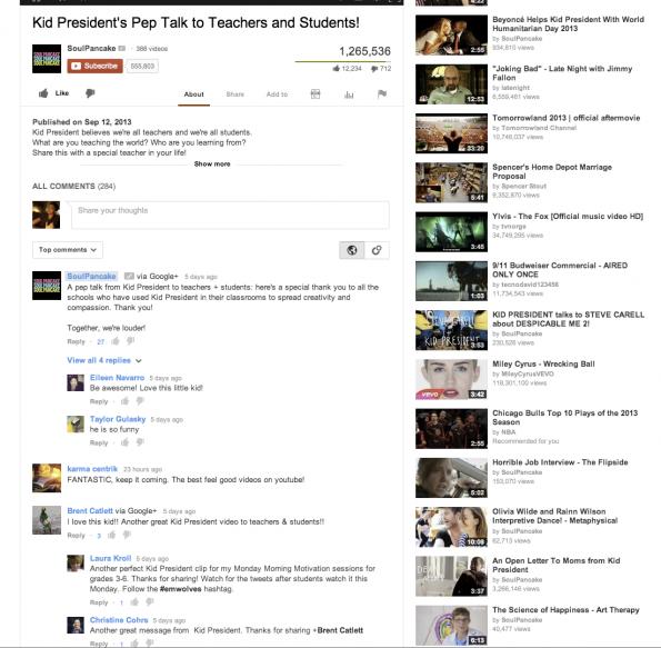 Zum Ende des Jahres sollen YouTube-Kommentare so aussehen: Für jeden Nutzer individuell sortiert und abzugeben via Google+.