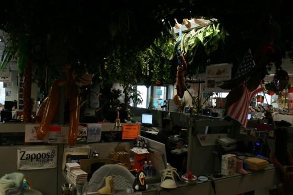 """Zappost: Das absolute Gegenteil eines """"stylischen Office""""."""
