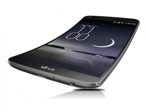 LG G Flex: Ab November wird das Smartphone in Korea verfügbar sein. (Bild: LG)