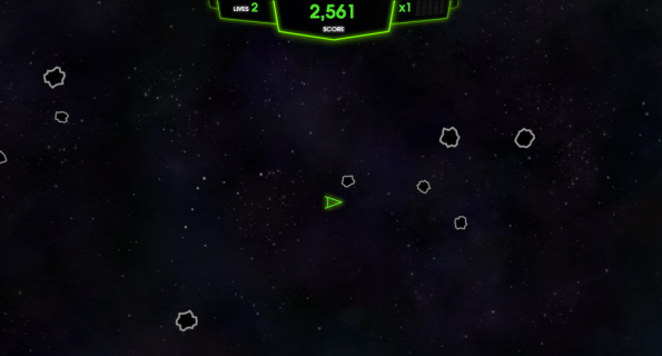 Retro-Game: Asteroids